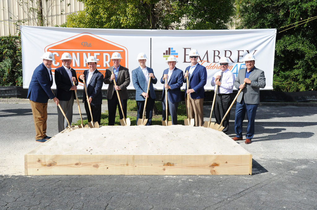 Embrey First to Break Ground in The Packing District